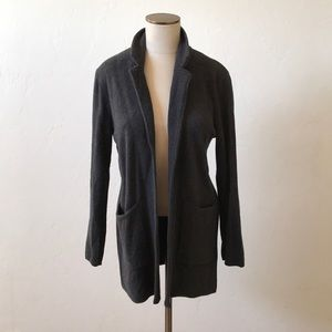 J.CREW Open Cardigan With Pockets